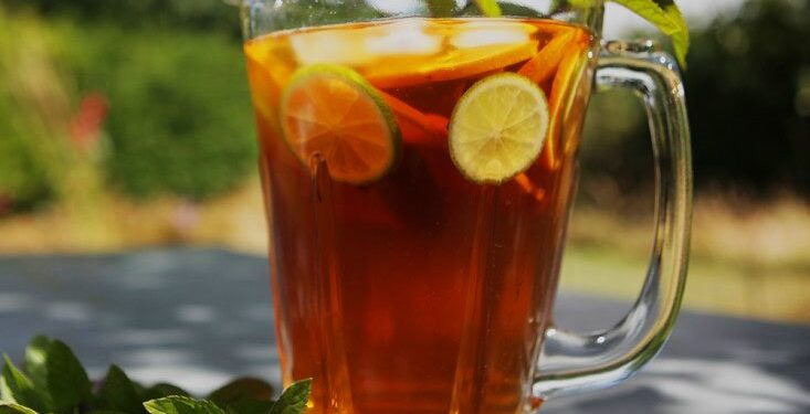 Bitkisel buzlu çay, kilo vermek diyet yapmak huglero.com