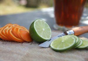buzlu çay, meyve dilimleri, diyet çayları, huglero.com