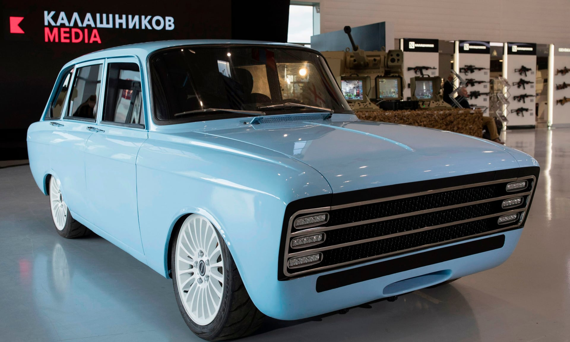 kalashnikov elektrikli otomobil https://huglero.com