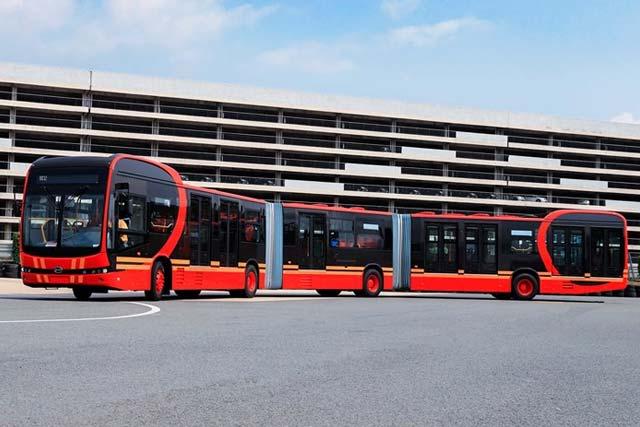 elektrikli otobüs https://huglero.com