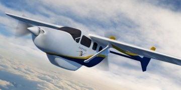 hibrit elektrikli uçak https://img.huglero.com