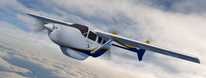 elektrikli hibrit uçak https://huglero.com