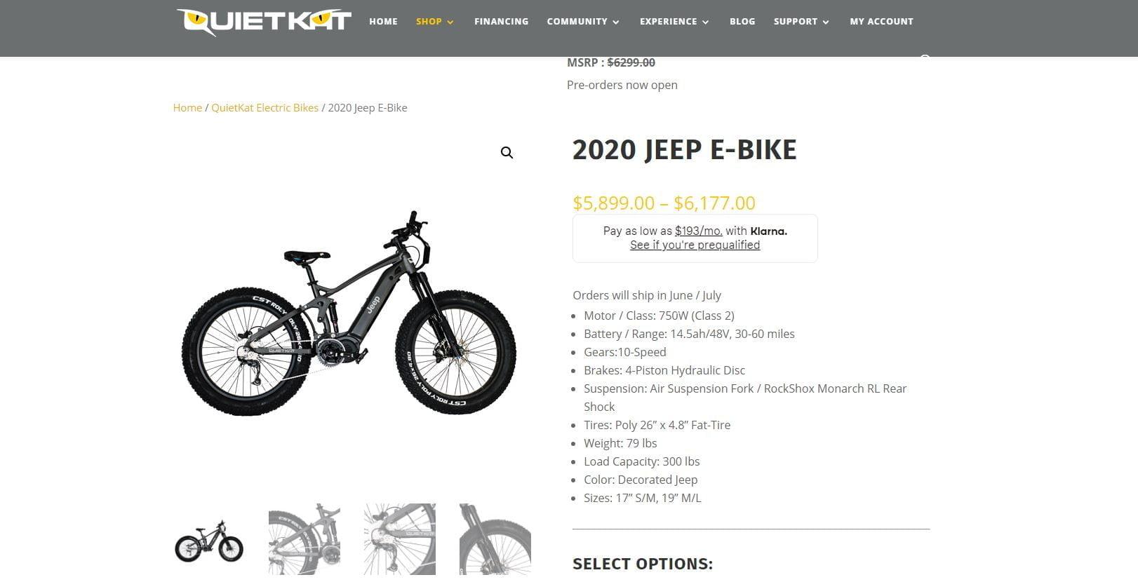 jeep e-bike price specs https://huglero.com