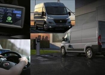 elektrikli minibüs Fiat e-ducato