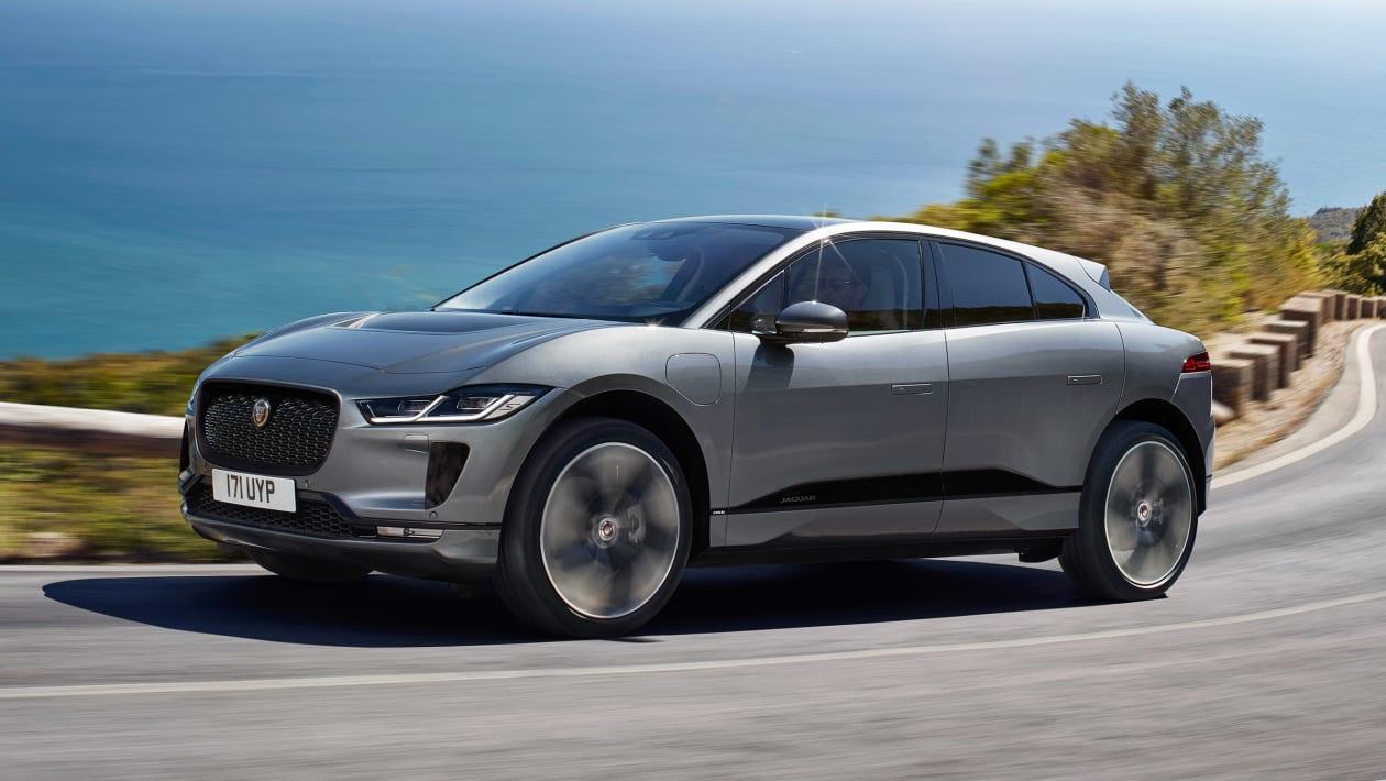 2020 jaguar I-Pace elektrikli otomobil