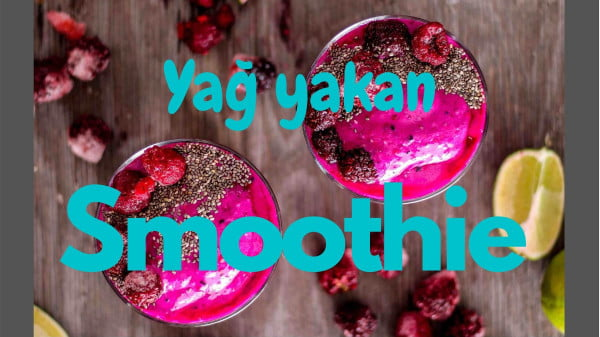 göbek eriten smoothie tarifleri yapması çok basit ve içmesi çok lezzetli. Ayrıca yağ yakmaya oldukça yardımcı içecekler