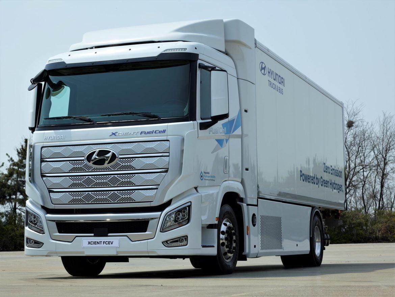 Hyundai xcient - dünyanın ilk yakıt hücreli kamyonu İsviçrede kullanıma giriyor https://huglero.com