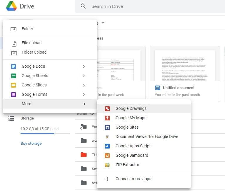 Google drive uygulamaları https://huglero.com