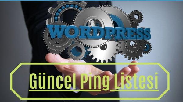 Worpress ping linstesi güncel 2021 https://img.huglero.com