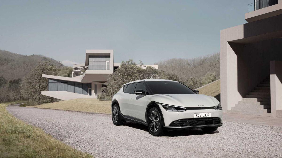 Kia elektirkli araba dış tasarımı ve özellikleri https://huglero.com
